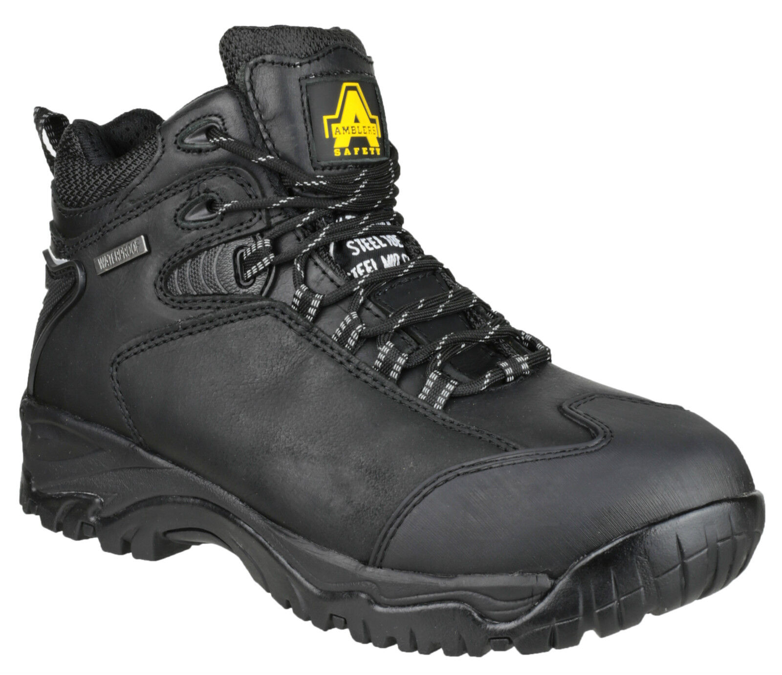 Amblers fs190 uomo impermeabile di sicurezza da uomo fs190 in acciaio Puntale Escursionismo Stivali uk6-15 e8f01a