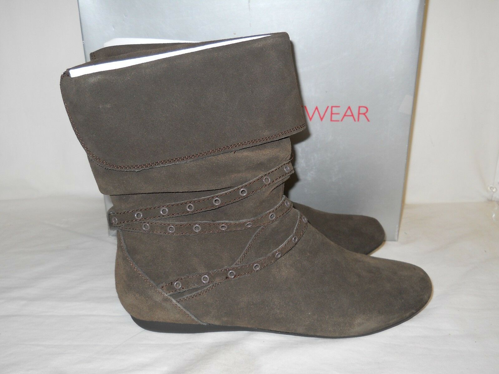 Report Footwear New Womens Bethel Brown Brown Brown Boots 8.5 M shoes NWB 087157