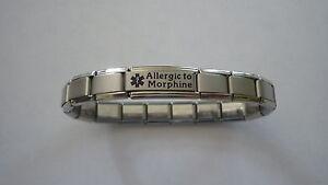 Italian Charms Medical  Alert Allergic to  Custom Made