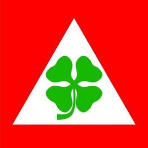 "#z1079 (1) 3.75"" Alfa Romeo Racing Team Vintage Emblem Decal Sticker Laminated"