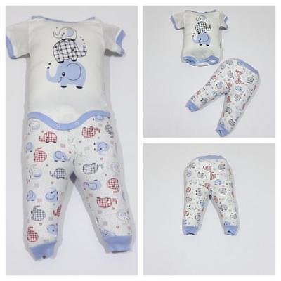 ♥ Neu ♥ Babykleidung |2-teilig|, Oberteil, Strampelhose | Gr.62 ; 68 |