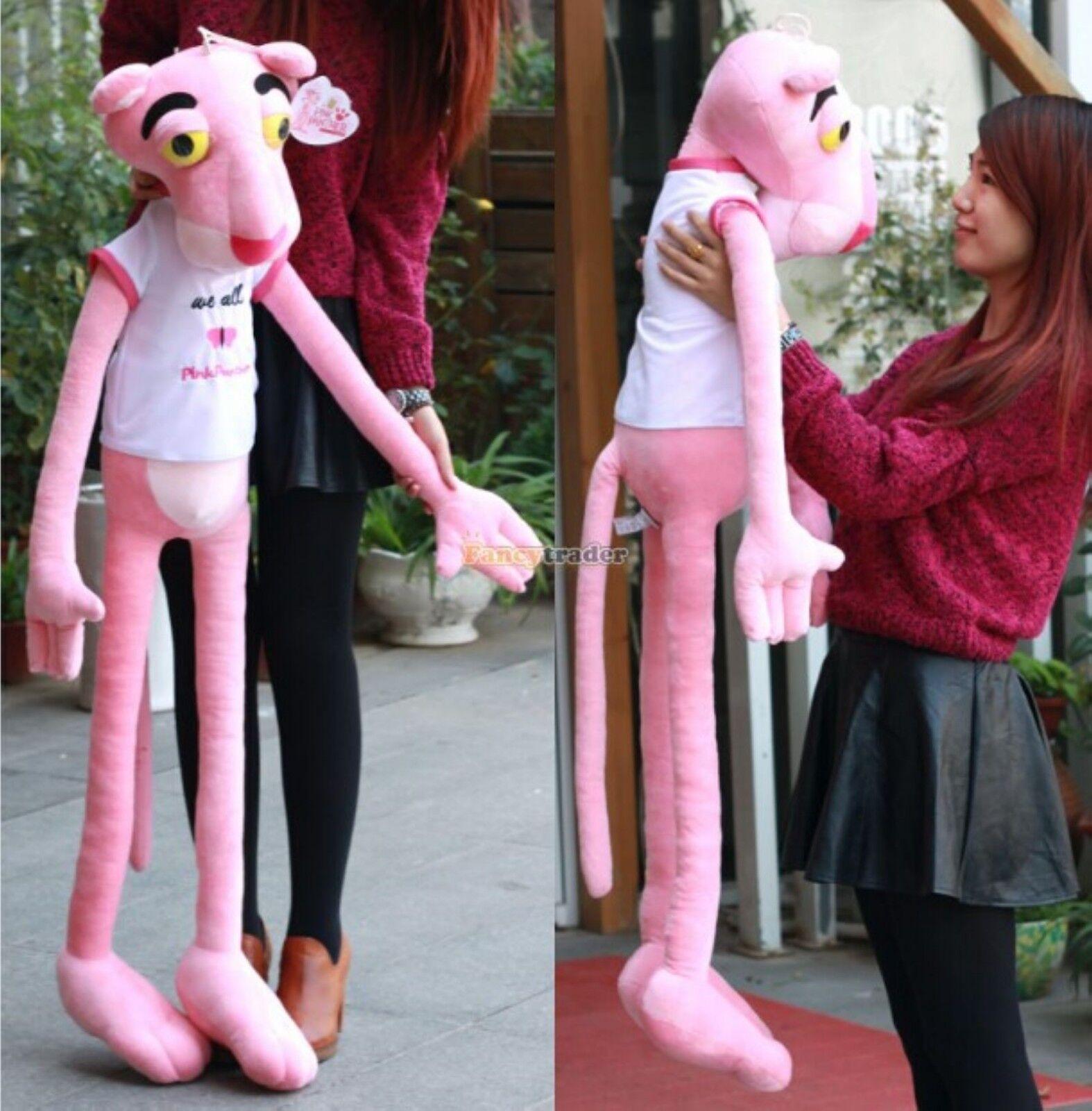 63''Giant Hung big Plush Stuffed Pink animal Life Size soft toys doll Xmas gift