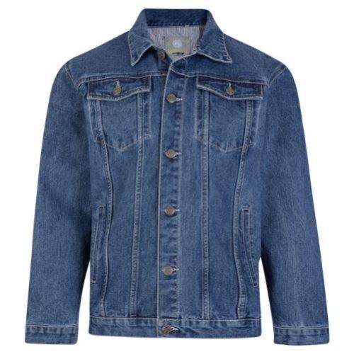 Jeans Blu Taglia 8xl Uomo S In Stonewash Giacca Western Qualità 401 Kam Di WAOR6WTg