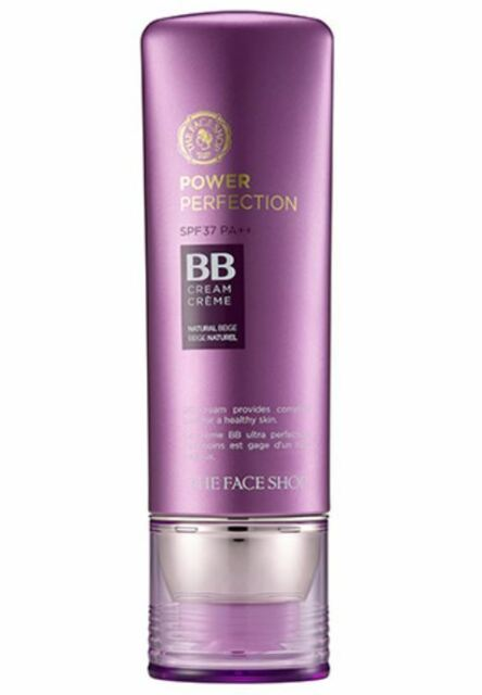 [The Face Shop] Power Perfection BB Cream SPF 37 PA++ 40g - #V203 Natural Beige