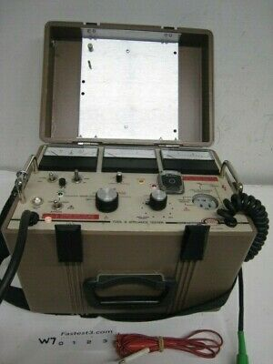 Biddle Megger 235303 Tool And Appliance Tester Biddle Instruments Ebay