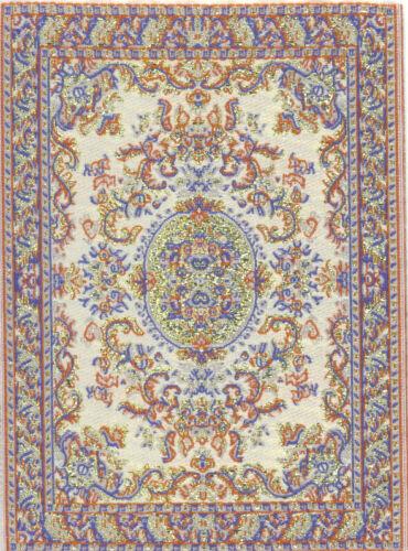 "Beautiful Dollshouse Dolls House  Miniature Woven Turkish Carpet 4/"" x 6/"""