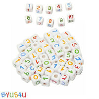 Ceramic Beads Peruvian Choose Size Numbers Color Jewelry Craft Decor