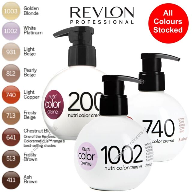Revlon Professional Nutri Color Creme 513 Deep Chestnut 250ml Ebay