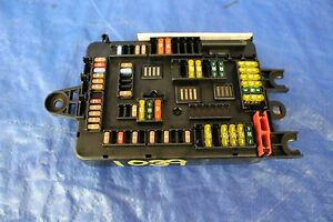 2015 15 BMW M4 COUPE FACTORY INTERIOR JUNCTION FUSE BOX F82 3.0L ...