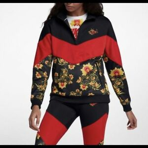 giacca nike floral donna