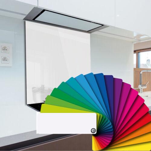 Kitchen Glass Splashback Heat Resistant Toughened Glass 60 x 40 cm Any Colour