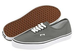 d3cd72ea25 Image is loading VANS-AUTHENTIC-Pewter-Black-Grey-Man-Skate-Shoes-