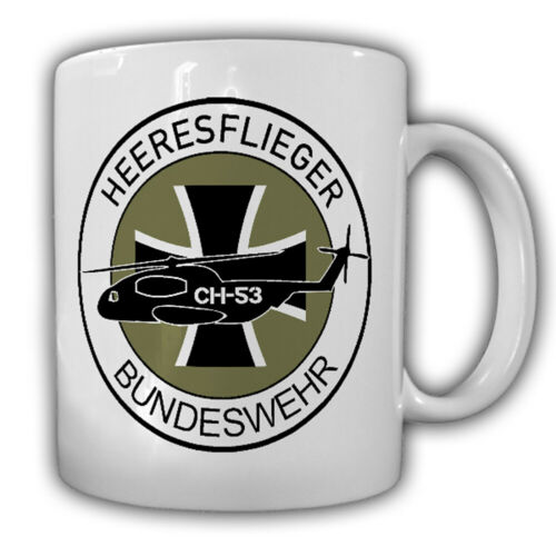 Tasse #18101 Heeresflieger BW CH35 Heer BW Bückeburg Fritzlar Wappen