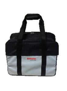 Image is loading Bernina-Domestic-Sewing-Machine-Blue-Silver-Storage-Carry- e416b370e5e66