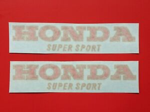 HONDA-400-FOUR-F1-FUEL-TANK-RED-GOLD-DECALS-FOR-BLUE-TANK-APPLICATION-1975-76