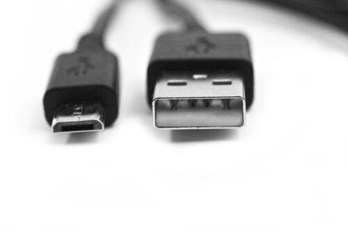 90cm USB Cargador con Cable de alimentación negro para D-link DSH-C310 Omna 180 Cam Cámara