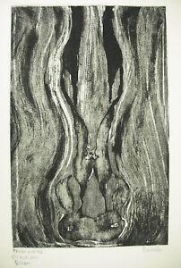 Rodolfo-Stampa-Firmata-Prova-Artista-Autografata-a-034-Felipe-034-Art-Astratto
