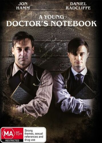 1 of 1 - A YOUNG DOCTOR'S NOTEBOOK - Daniel Radcliffe, Jon Hamm (DVD, 2014, Free Postage)