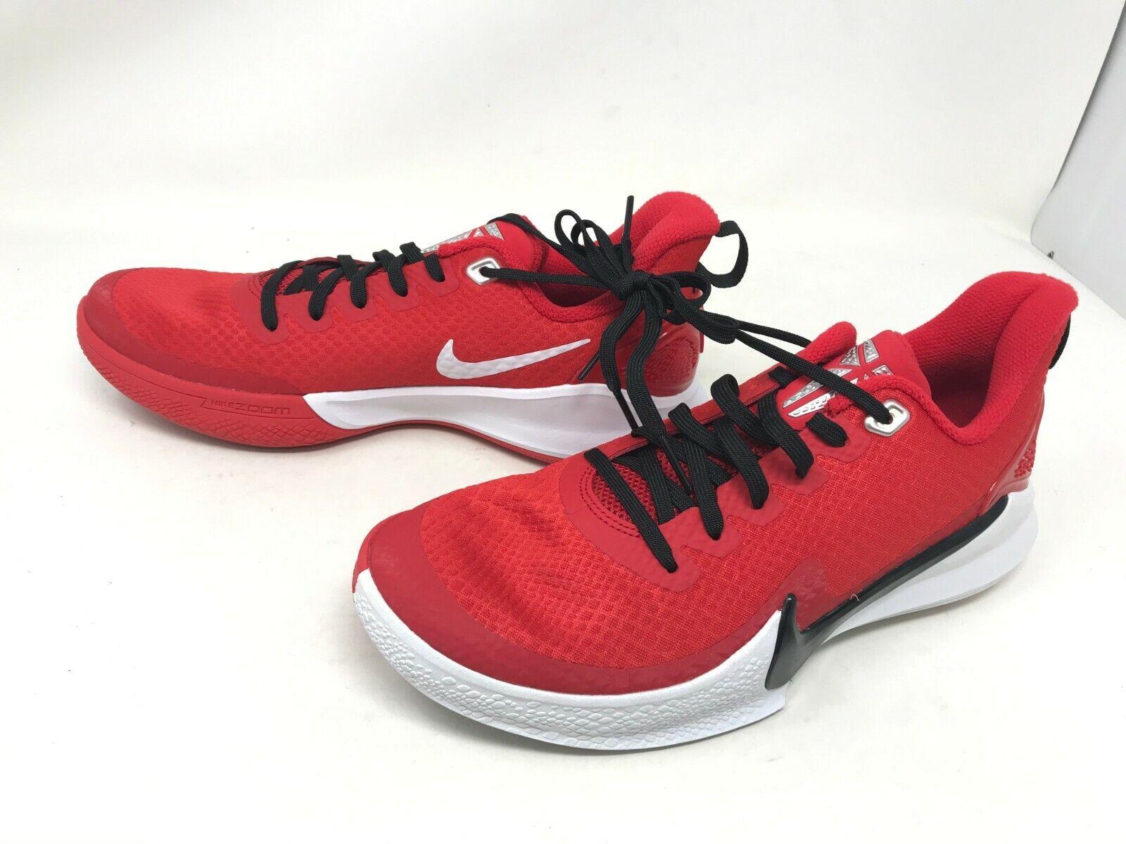 Mens Nike (AT1214-600) Mamba Focus TB University Red sneakers (456E)