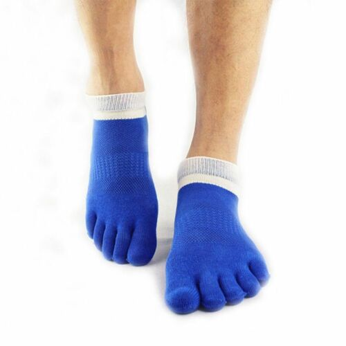 Unique Peu coûteux Respirant Fantaisie Design 1 Paire Toe Hommes Chaussettes doigt cinq