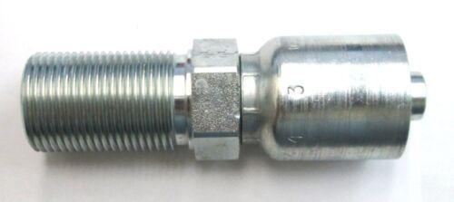 "Parker 1JB43-8-6 Fitting 3//8/"" Hose X 1//2/"" Male Seal-Lok Details about  /HF 1JB43-08-06 Bulkh"