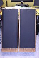 CLEAN Vintage SONY SS-U501 3-way 8 ohm 270W speakers - pick-up only - made in US