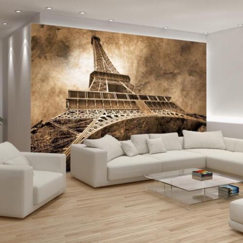 Vlies Fototapete Poster Wand Wand STADT PARIS EIFFELTURM HIMMEL 13N222VEL