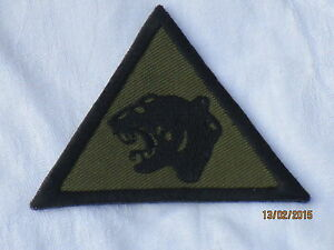 19th Mechanized Brigada, negro/oliva