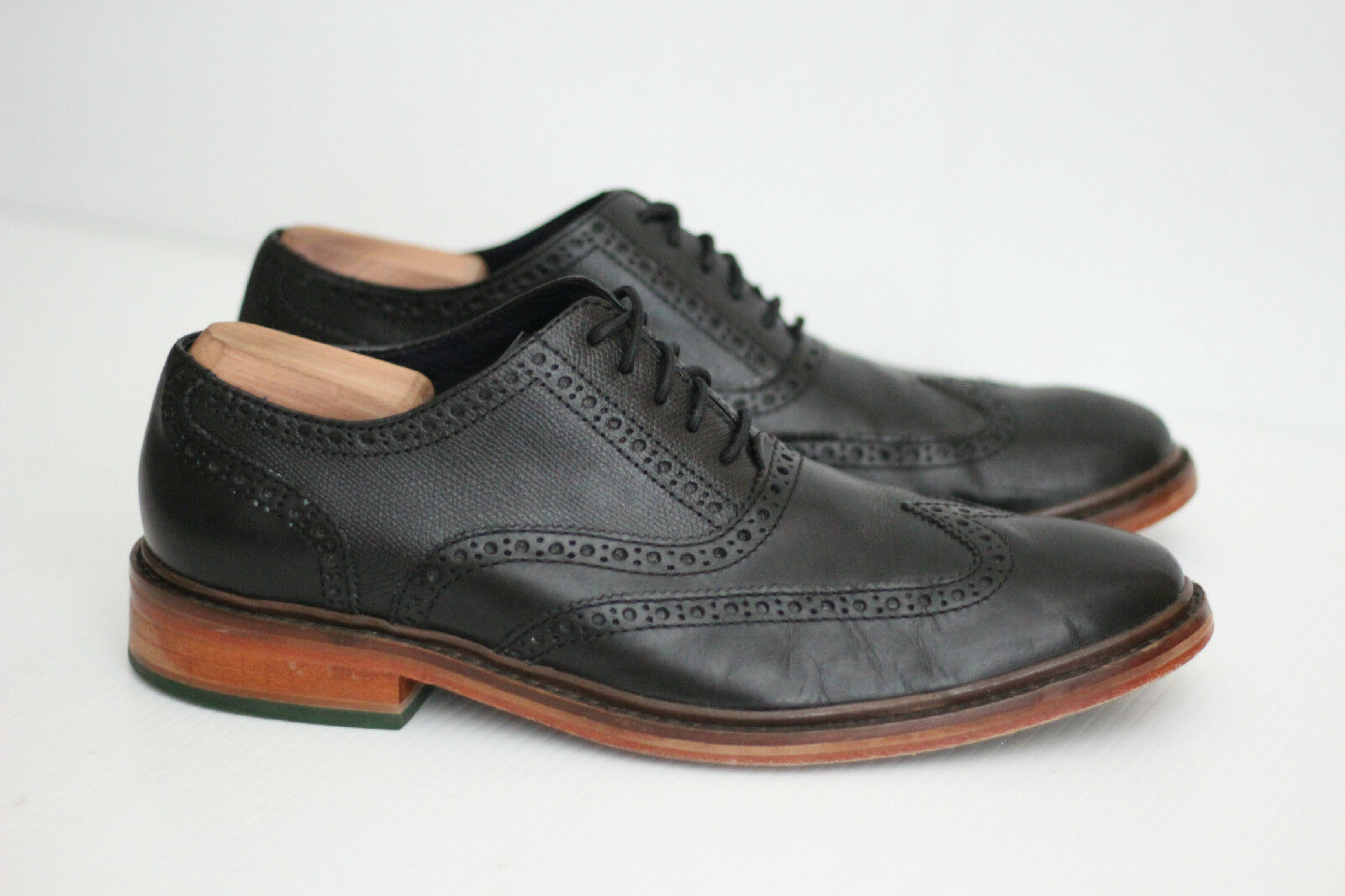 vendita con alto sconto Mens Cole Haan 'Colton' Wingtip Wingtip Wingtip Oxfords - nero - Dimensione 11.5 M - C11756 (Q65)  profitto zero