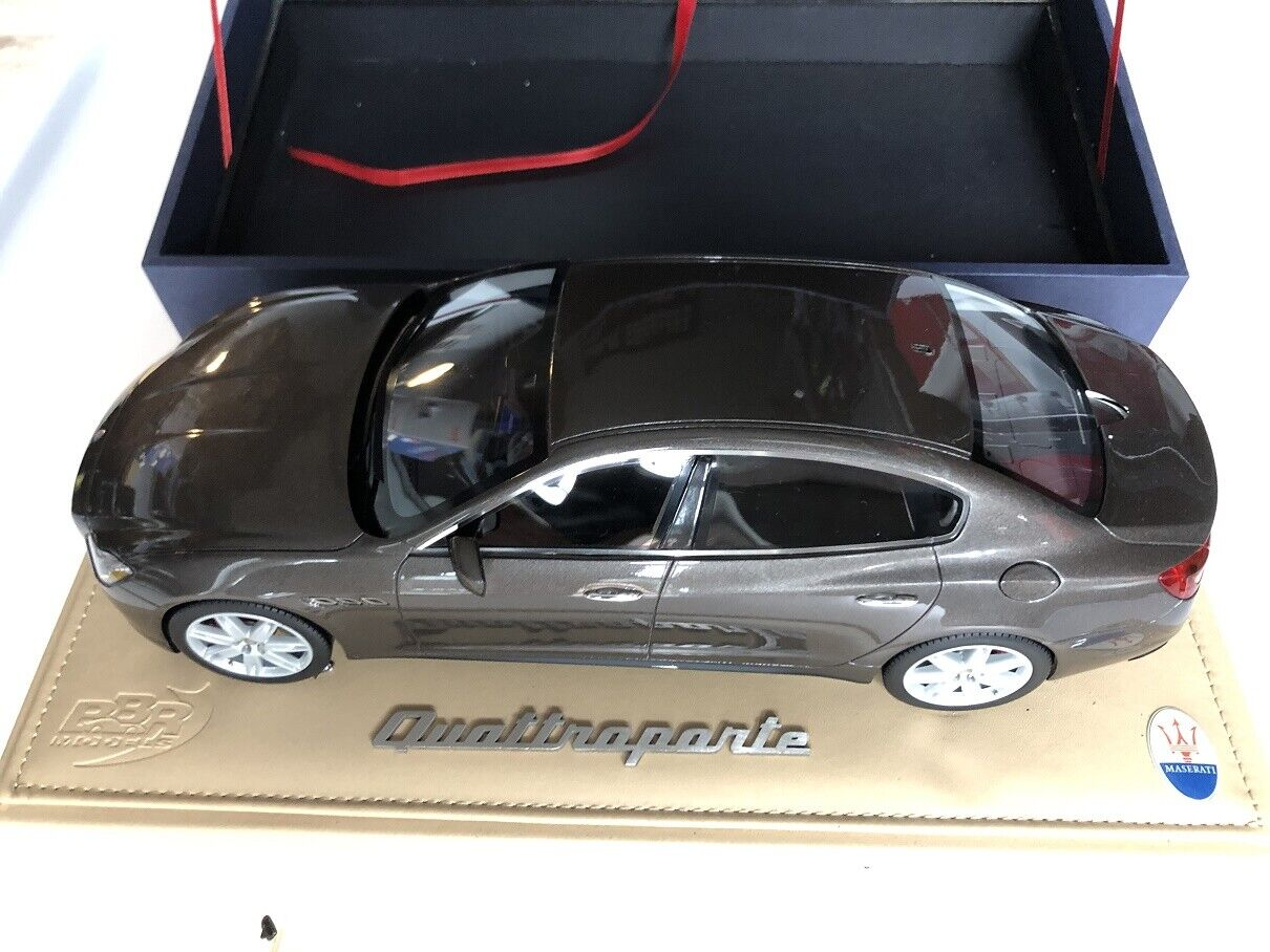 1 18 BBR P1861B Maserati Quattroporte Detroit 2013 Damaged
