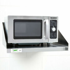 Stainless Steel Wall Mount Microwave Shelf Commercial Restaurant Stand Holder