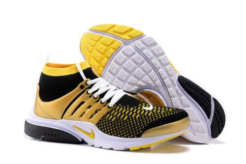 Nike Air presto Flyknit ultra Negro SZ Amarillo Oro Hombre Zapatos SZ Negro (835570-007) a233d4