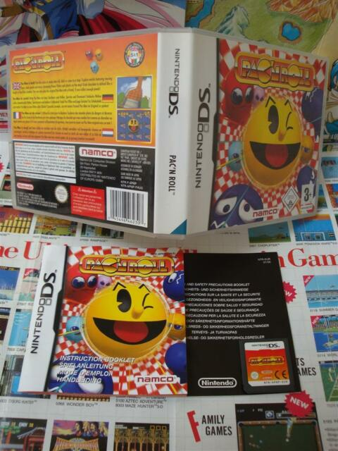 Nintendo DS :p AC 'Roll [Top Arcade Namco & 1ERE Edition ] Completo - Fr