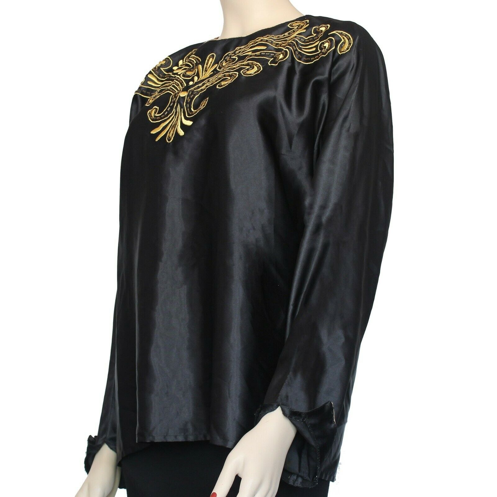 Vintage 1990's Laura & Jayne Collection Blouse Si… - image 3