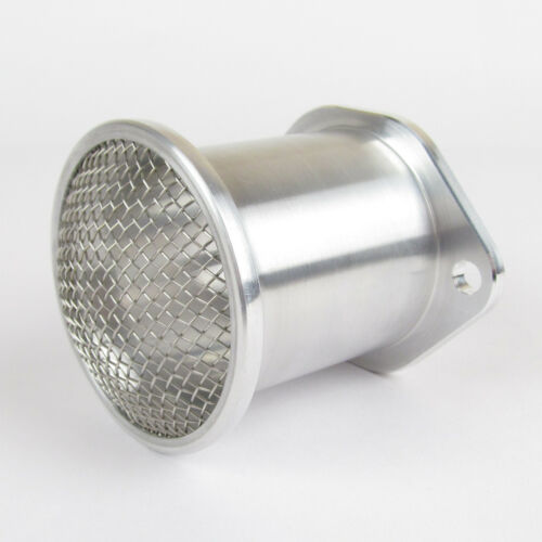 Dellorto weber 45 48 boulon sur en alliage poli trompette ram pipe /& gaze 60mm long