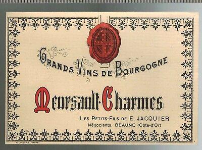 Etiquette Vin Bourgogne-Chasse à Courre-Brossard-Hautes Côtes De Beaune-N°231
