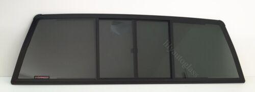 Fit 84-88 Toyota Pickup 2DR Extended Cab Sliding Back Glass plus Gasket