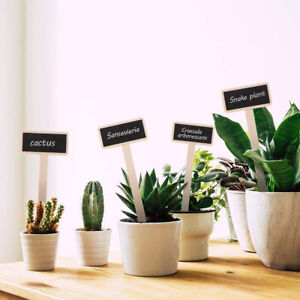 20Pcs Plant Labels Markers Tags For Garden Nursery Herbs Flowers Florist