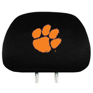 LSU Tigers Head Rest Covers 2 Pack NEW NCAA Car Seat Headrest CDG