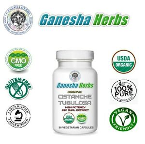 Certified-Organic-CISTANCHE-TUBULOSA-High-Potency-20-1-extract-Veg-Capsules