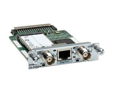 Analitico €425,40+iva Cisco Ehwic-3g-evdo-v= Wireless Wan, 3g, Umts 800/1900mhz New Sealed Texture Chiara