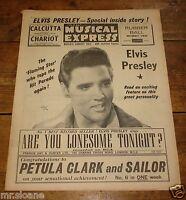 NME 27 JAN 1961 ELVIS PRESLEY TILLOTSON CONNIE FRANCIS PETULA CLARK BOBBY VEE