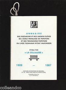 Annuaire-de-l-039-ecole-francaise-de-papeterie-du-lycee-de-Vaucanson-1908-1987