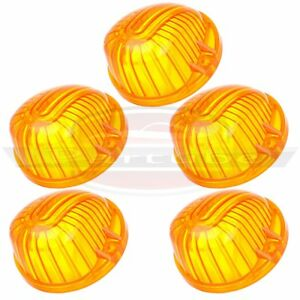 5x 12V//3528 LED 9069A Cab marker Top Light Lamp Smoke Covers For Chevy PICKUP