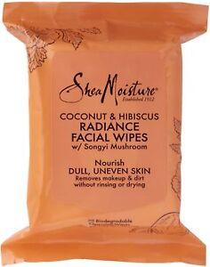 Shea-Moisture-Coconut-Hibiscus-Facial-Wipes-30-ea-Pack-of-2