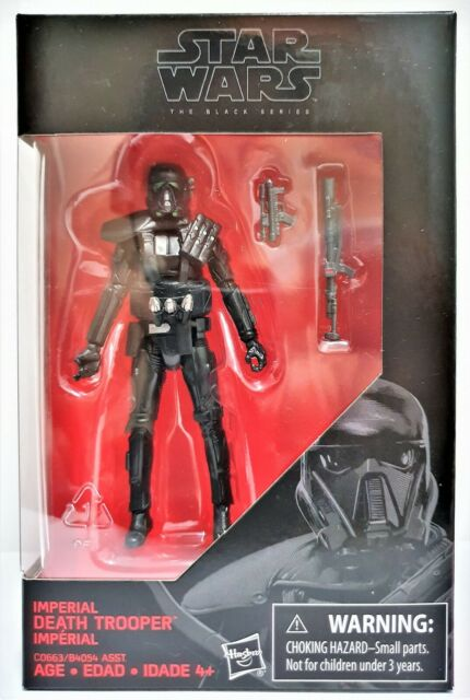 Star Wars Imperial Death Trooper 3.75 inch The Black Series Hasbro