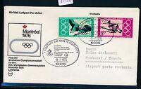62936) LH Olympiade SF Frankfurt - Montreal 9.7.76, SoU