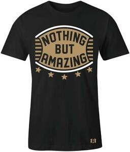 034-Nothing-But-Amazing-034-Shield-T-shirt-to-Match-Retro-034-GOLD-TOE-034-1-039-s