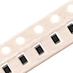 RoHS Pack of 100 0805 1/% Chip Resistors SMD SMT 10R to 820K