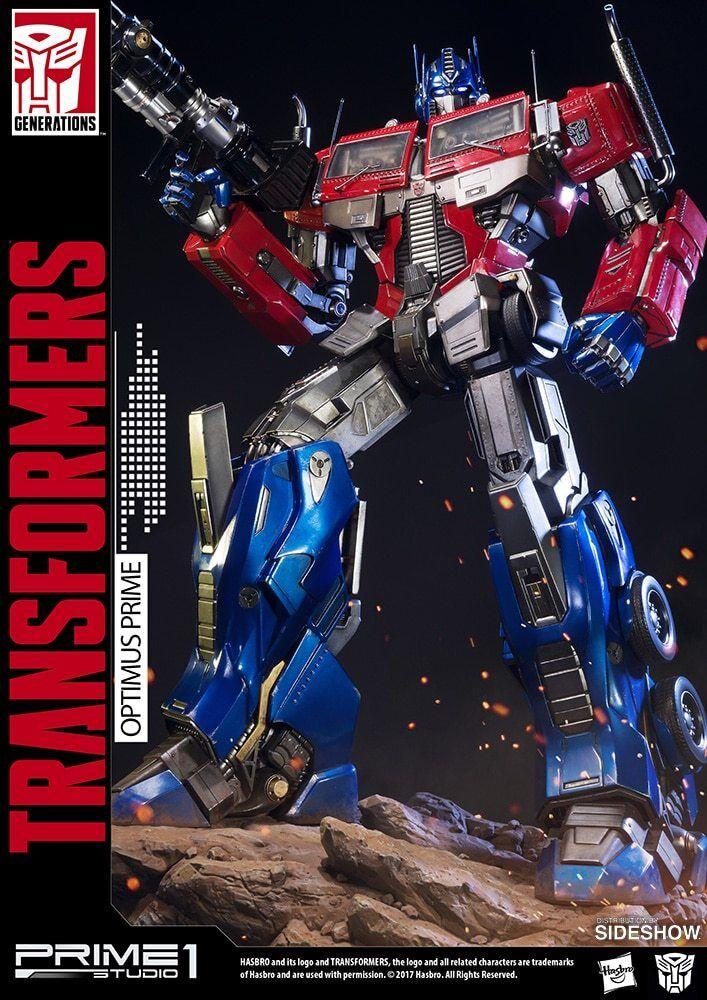 Optimus Transformers Generation 1 Statue Prime 1 Studio sideshow exclusive vers